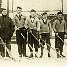 Hokejové mužstvo Vyšehradu 1907