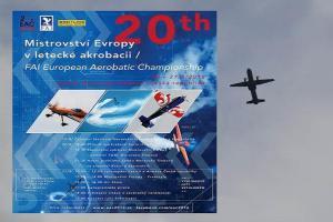 Hurá do  Moravské Třebové, kde je k vidění Mistrovství Evropy v akrobatickém létání