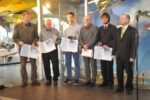 Díkůvzdání nejlepším leteckým sportovcům za rok  2015 v mladoboleslavském muzeu