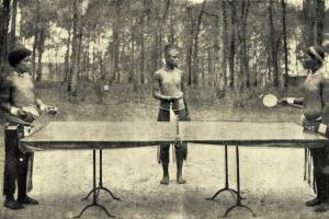 Ping – pong v Africe v roce 1905