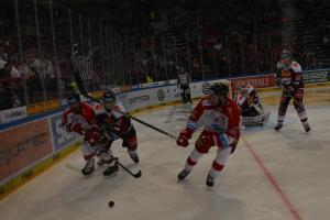 Podívejte, jak hokejisté Sparty nakonec přeci jenom vyhráli nad borci z Olomouce