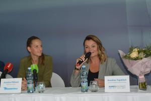 Česká tenistka Karolína Plíšková se spolu se sestrou Kristýnou stala tváří značky Mototechna