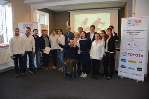 Velké Děkuji od ministra školství Plagy paralympionikům za reprezentaci Česka