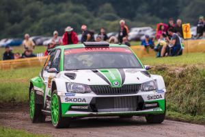 WRC v Německu po první etapě vede Kopecký před Tidemandem