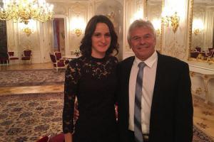 Na Pražském hradě sklidila jeden z nejdelších potlesků přítomných hostů Martina Sáblíková