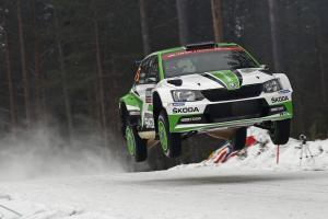 ŠKODA Motorsport hodlá na Švédské rally  zopakovat úspěch z roku 2017