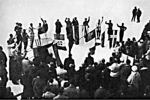 Přísaha sportovců na ZOH 1924