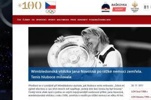 Smutná zpráva z tenisu... vítězka z Wimbledonu Jana Novotná po těžké nemoci zemřela