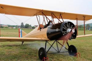 V Leteckém muzeu Metoděje Vlacha byla pokřtěna další funkční replika letadla
