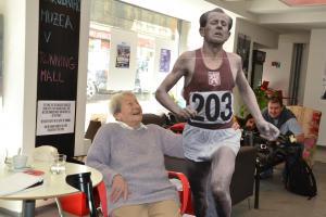 Blahopřejeme nejstarší české žijící olympioničce Daně Zátopkové slavící 95. narozeniny