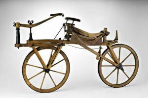 Před 200 lety byla vynalezena draisina – předchůdce kola