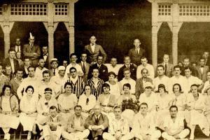 V Klatovech se hrával světový tenis