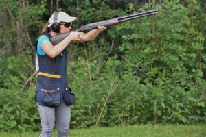 Nový úžasný český rekord Barbory Šumové ve střelecké disciplíně Skeet – ženy