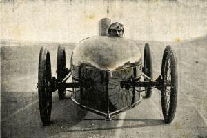 Nejrychlejší automobil světa v roce 1906