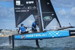 Jachtařský český tým MASTERLAN  s Davidem Křížkem na Flying Phantom Extreme Sailing Series