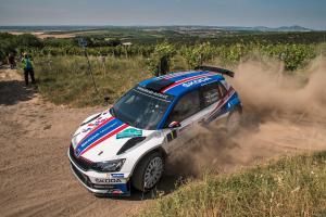 ŠKODA Motorsport na Rally Bohemia v sestavě, Kopecký s Dreslerem vyhlížejí 4. titul v řadě
