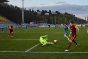 Na Julisce se konečně domácí šiky fanoušků radovaly... Dukla - Liberec 2:0