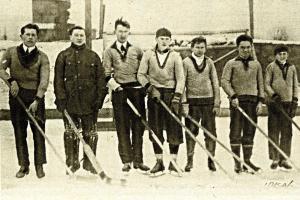 Vyšehrad 1907 hrával výborný hokej