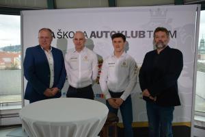 Na Valašskou rally  ACA ŠKODA AUTOKLUB TEAM  s Filipem Marešem v nové Fabii R5