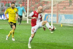 Velký, malý fotbalita Slavie Praha Miroslav Stoch zazářil, když v Edenu proti Karviné dal dva góly