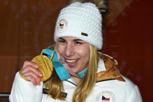 Senzační zpráva! Lyžařka Ester Ledecká v super-G vybojovala na ZOH v Pchjongčchangu zlato