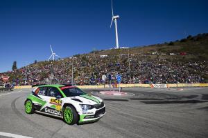 WRC Španělsko: Kopecký vybojoval druhé, nováček Nordgren čtvrté místo ve WRC2