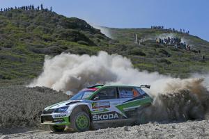 Na Rally Italia Sardegna 2018 budou kroužit i vozy značky Škoda