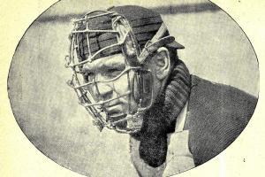 Ochranná maska pro hráče baseballu
