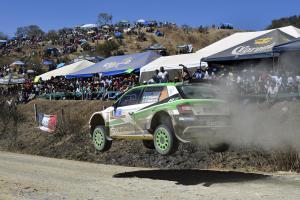 Na Mexické rally Tidemand s vozem ŠKODA FABIA R5 zvítězil ve WRC 2 a je v čele MS