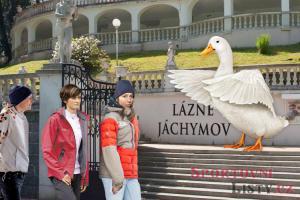 Sportovci zestátňují lázně Jáchymov