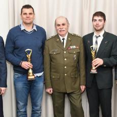 Trenéři Dukly Hradec Králové, ředitel ASC Dukla Priščák a David Kostelecký a Miloš Slavíček