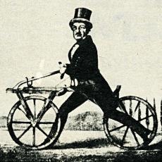 Draisina – předchůdce kola